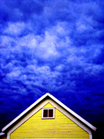 Evening Clouds, Yellow House_300dpi_Christopher Woods - Copy