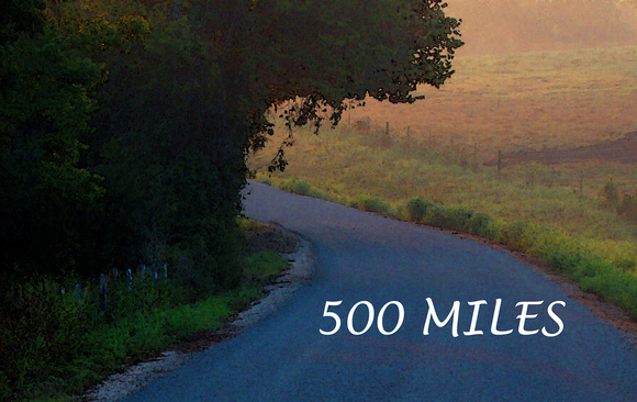 500 MILES - Morning Road_300dpi_Christopher Woods